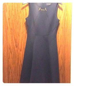 Ivanka Trump Navy Blue Dress